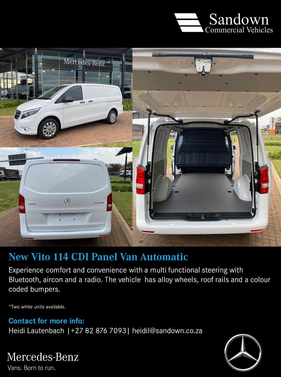 Mercedes Benz Vito 114 CDI Panel Van